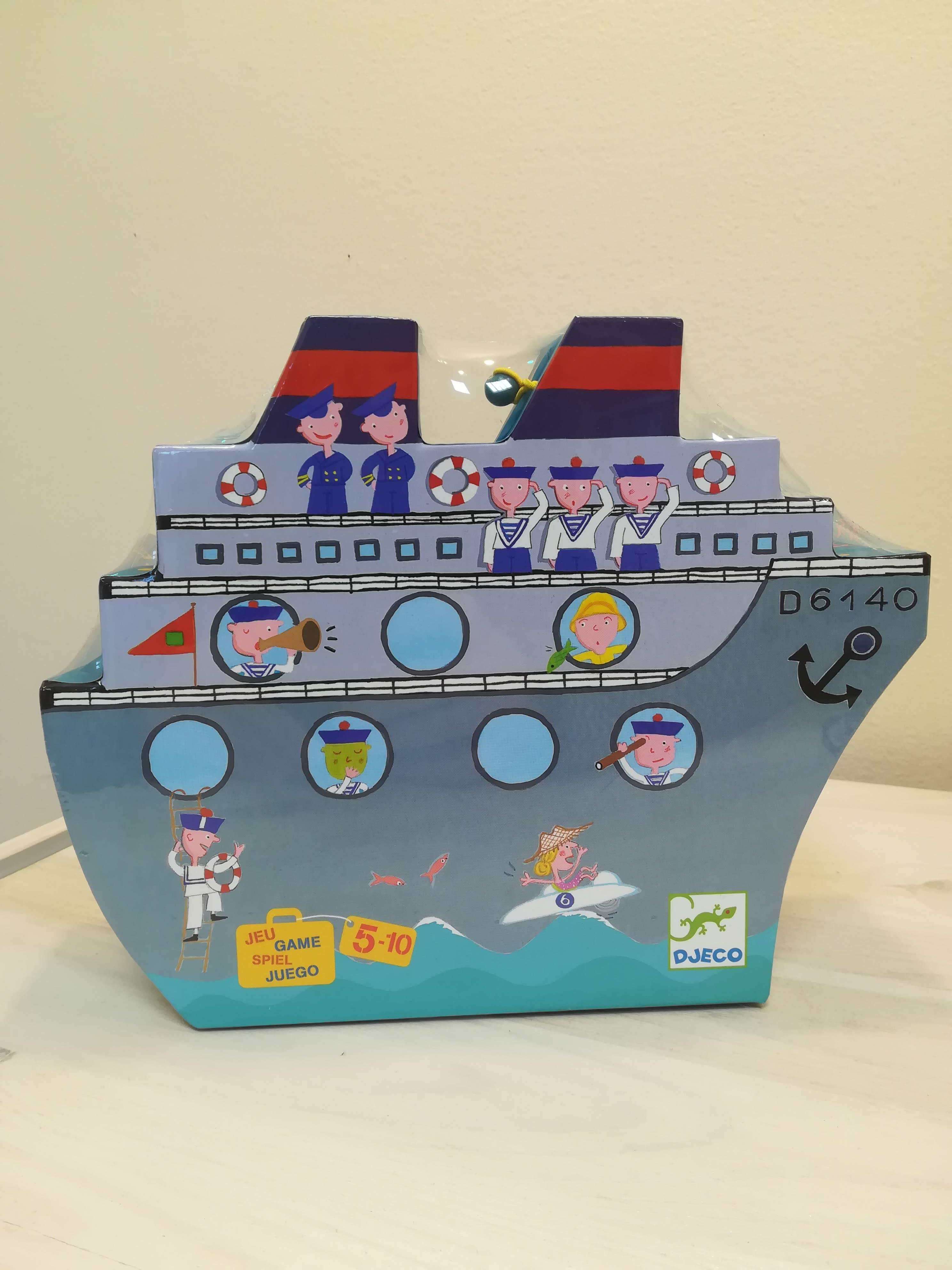 Hajós társasjáték a Djeco-tól!
