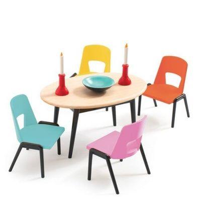 Babaház bútorok - Djeco játék