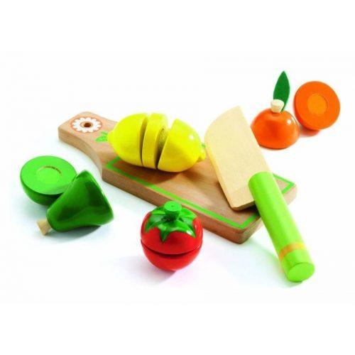 Gyümölcsös játékok a Djeco márkák között