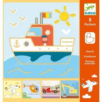 Kreatív rajzkészlet gyerekeknek - Djeco játék
