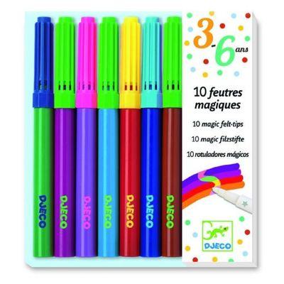 Színes ceruzák, akvarell ceruzák, filcek - Djeco játék