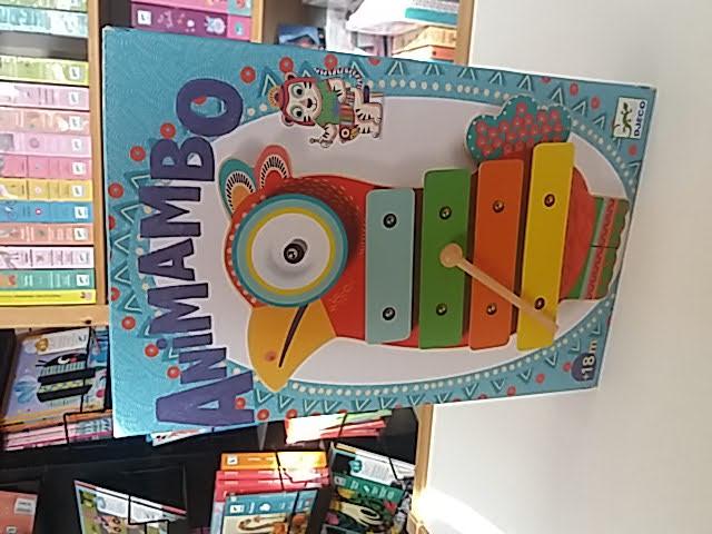 Madaras játékhangszer az Animambo kollekcióból.