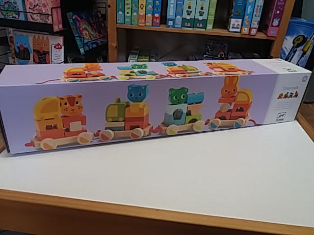 Szuper készségfejlesztő vonatos játék dzsungelállatokkal!